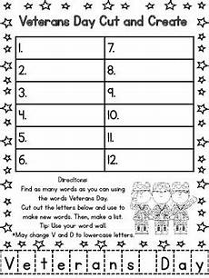 s day algebra worksheets 20300 veterans day math and literacy activities common aligned by