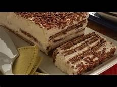 Torta Con I Wafer | torta fresca di wafer senza cottura maria grazia youtube