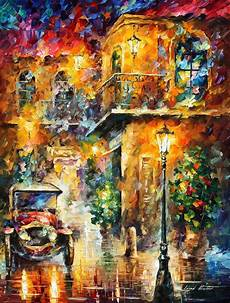 leonid afremov oil on canvas palette knife buy original paintings art famous artist