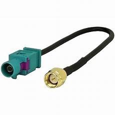 antennenadapter kabel 0772 06208 f 252 r gsm gps dab