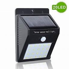 meikee 20 led le solaire sans fil spot exterieur avec