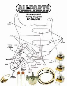 wiring kit fender 174 stratocaster strat complete with schematic diagram usa parts ebay