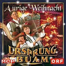 ursprung buam a urige weihnacht cd