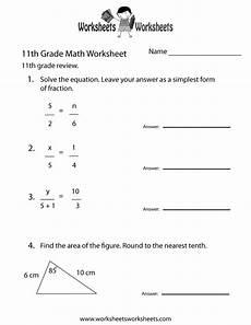 algebra worksheets grade 11 8414 free printable 11th grade math review worksheet