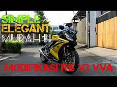 Yamaha R15 V3 Modifikasi by Modifikasi Yamaha R15 V3 Vva Simple Dan Tetap