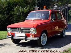 Les Petites Renault Renault 6 Phase I Pompiers 1968