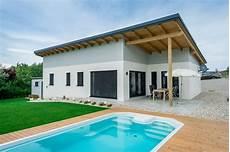 Moderne Bungalows Mit Pultdach - moderner bungalow mit pultdach wimbergerhaus modern