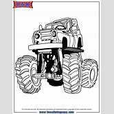 bigfoot-monster-truck-coloring-pages