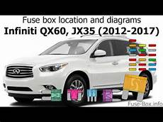 Fuse Box Location And Diagrams Infiniti Qx60 Jx35 2012