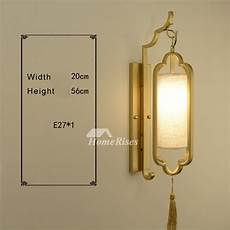 designer gold wall sconces wrought iron fabric lantern