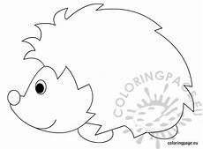 hedgehog coloring sheet coloring page