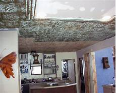 tin ceiling tile look for almost free with plaster and