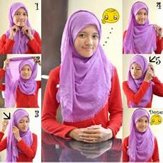 10 Tutorial Pashmina Rawis Simple Dan Modern
