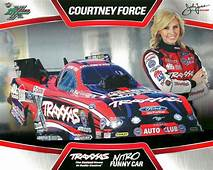 COURTNEY FORCE 2013 TRAXXAS NHRA Drag Racing NITRO Funny