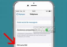 comment changer de code pin comment changer le code pin de la carte sim de iphone
