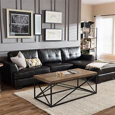 5 Black Leather Sofas Or We Found What Your Living Room