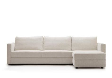 Custom Made Sofa Bed With Chaise Longue