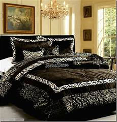 zebra print bedroom 7 pieces safari black white zebra animal print comforter