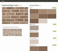 highland ridge tudor brown brick general shale behr ppg paints ralph paint sherwin