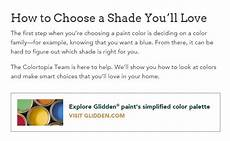choosing paint colors with glidden color tools just