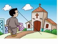 Gambar 65 Orang Kristen Pergi Ke Gereja Pada Hari Minggu