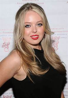 Tiffany Trump Tiffany Trump Sets Hearts Racing In Deep Neck Coat Dress
