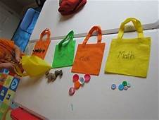 Our Take Home Math Bags In Preschool  Activities