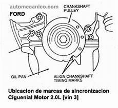 ford contour mystique banda de tiempo timing belt motor 2 0l dohc