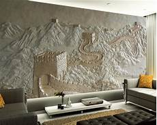 designer wall murals beibehang custom wallpaper great wall relief tv
