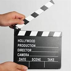 Director Clapperboard by Wooden Director Clapperboard Clapper