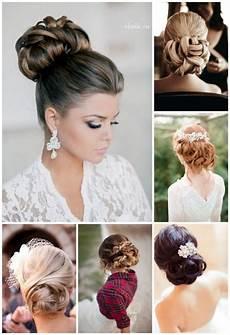 coiffure mariage chignon coiffures pour un mariage de printemps