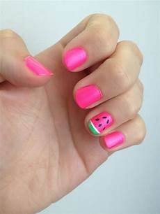 watermelon nail art nail art for kids watermelon nails