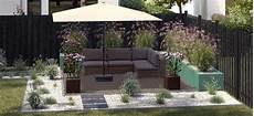 Garten Sitzecke Grillplatz Gestalten Obi Gartenplaner