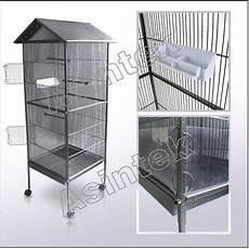 vendita gabbie per canarini gabbia in metallo voliera per volatili pappagalli canarini