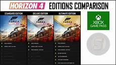 forza horizon 4 ultimate edition forza horizon 4 editions comparison standard deluxe