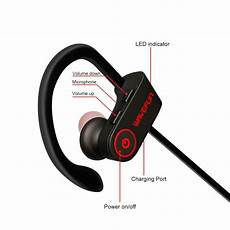 Bluetooth Bluetooth Earphone Noise Cancelling Ipx7 by Wavefun X Buds Bluetooth Headphones Ipx7 Waterproof Noise