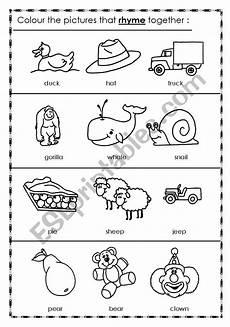 rhyming worksheets 18447 rhyming words esl worksheet by 3mmm