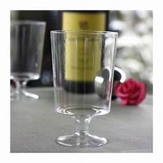 verres 224 vin en plastique transparent 17 cl vaisselle