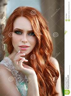 young girl with red hair stock photo image of forest beautiful young girl with red hair stock photo image of person eyes 103716368
