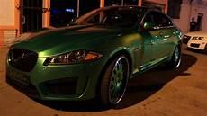 green jaguar mp s green jaguar on forgiato wheels