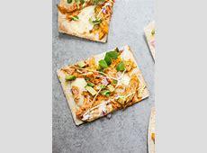 buffalo chicken flatbread pizzas_image