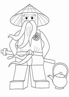 kolorowanka lego ninjago sensei wu nr 35