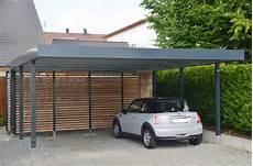 Carport Mit Schuppen Metall - doppelcarport aus metall myport doppelcarport carport