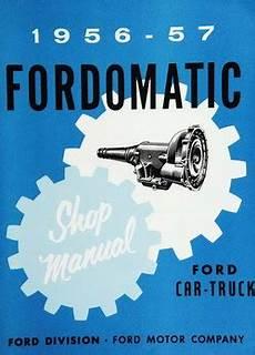 download car manuals 1989 ford thunderbird free book repair manuals 1956 ford manual