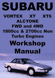 car service manuals pdf 1986 subaru xt instrument cluster subaru vortex alcyone xt xt6 1985 1991 workshop manual subaru subaru xt manual