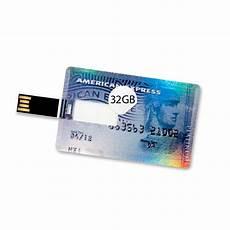 32 gb speicherkarte in scheckkartenform american express