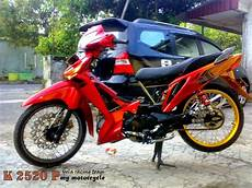 Modifikasi Motor Bebek Supra by Modifikasi Motor Supra X Jadi Trail Thecitycyclist