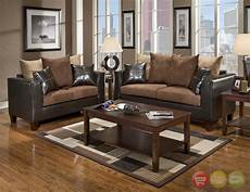 i love the color of the walls and the hardwood floors the chocolate in the sofas match the