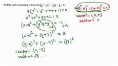 equation of a circle given radius and center tessshebaylo