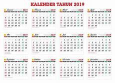 kalender 2019 gratis master kalender tahunan tahun 2019 cdr